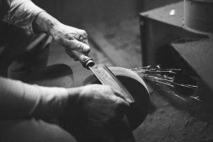 old knife sharpener