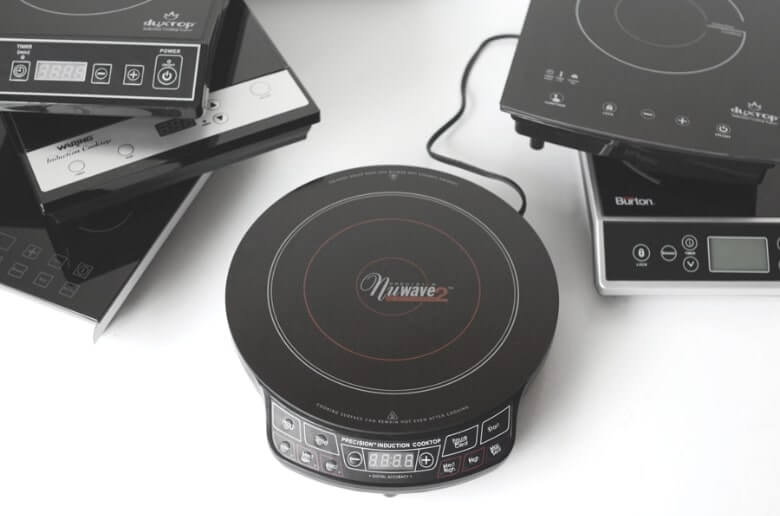 6 portable induction cooktops