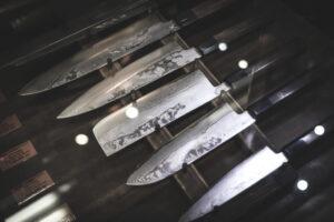 5 japanese knifes